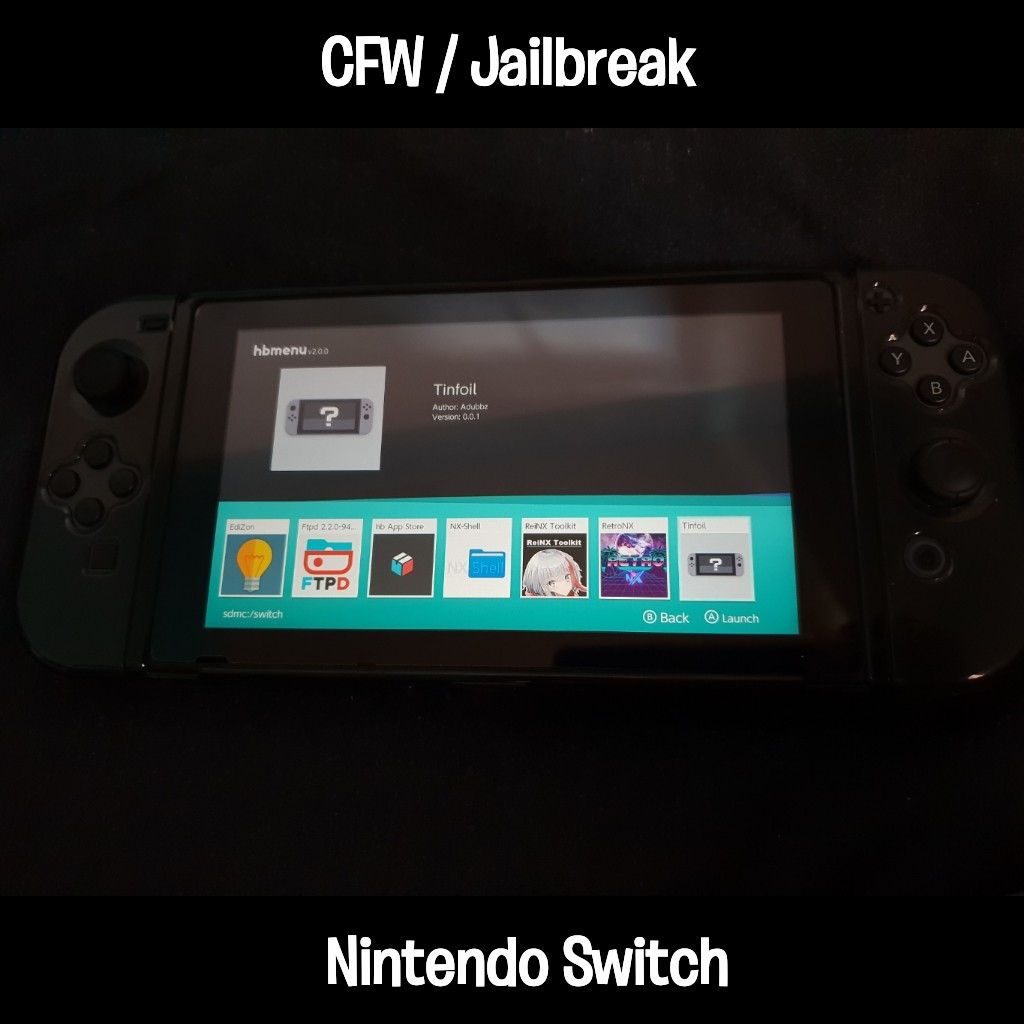 nintendo switch jailbreak tutorial