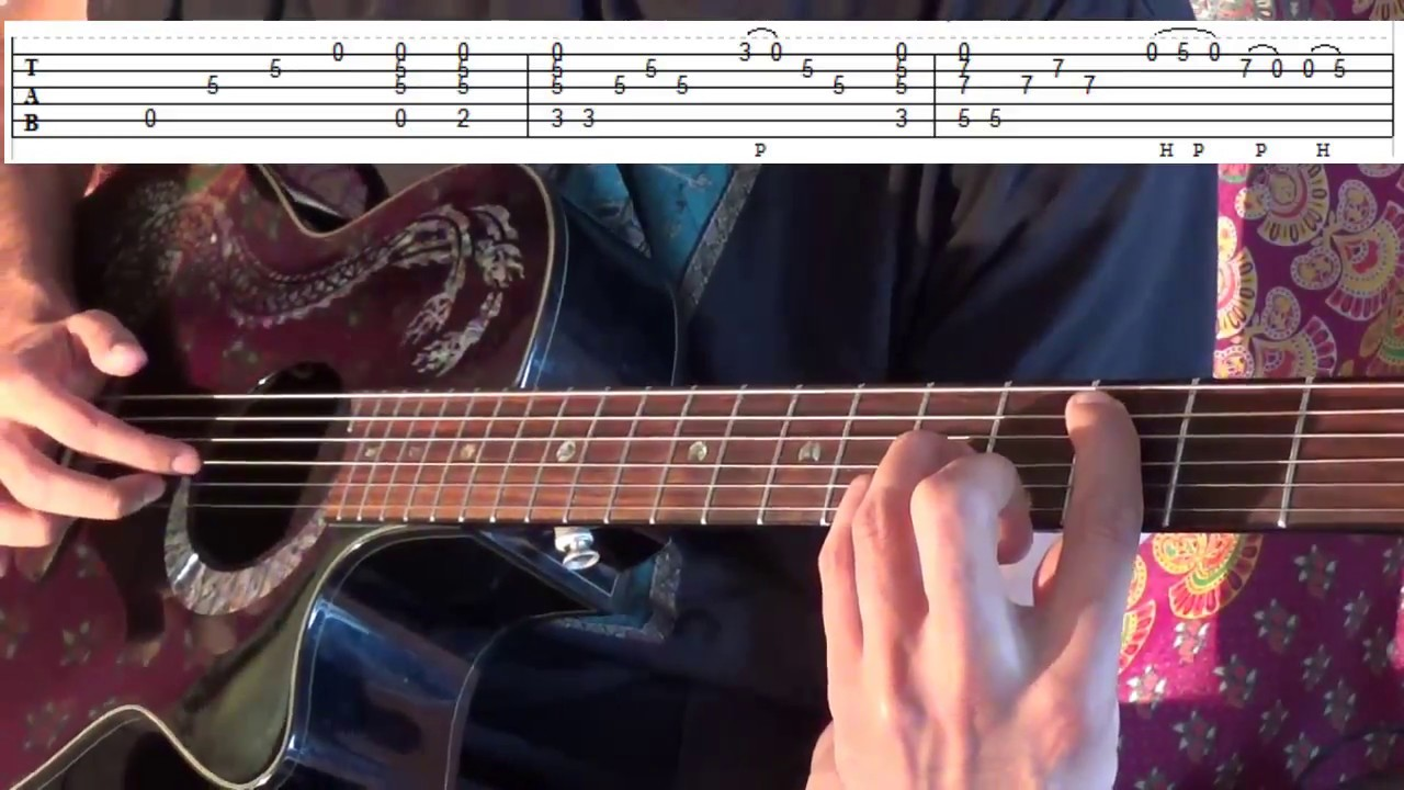 nothing is impossible guitar tutorial
