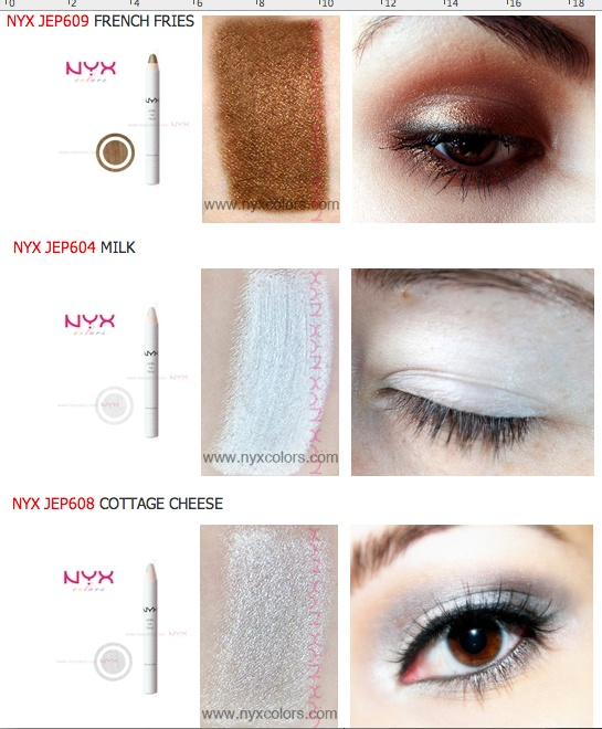 nyx jumbo eye pencil yogurt tutorial