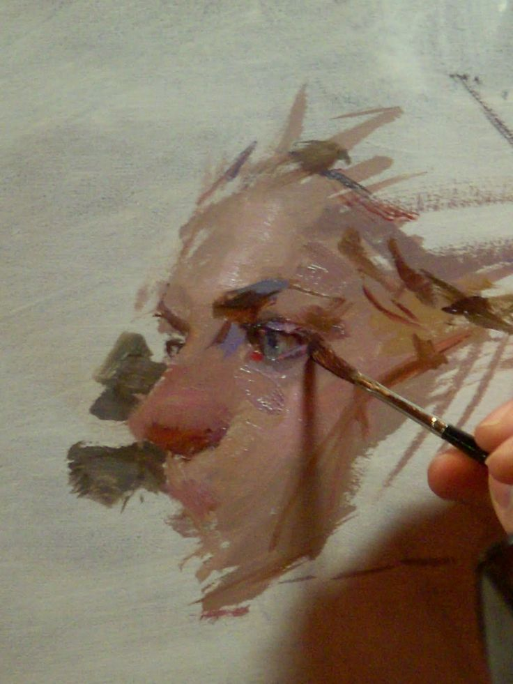 oil painting portrait tutorial