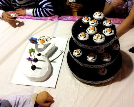 olaf cake pops tutorial