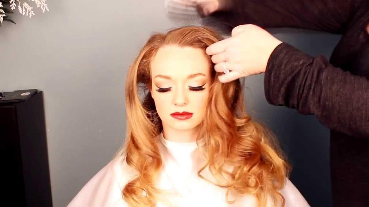 old hollywood hair tutorial