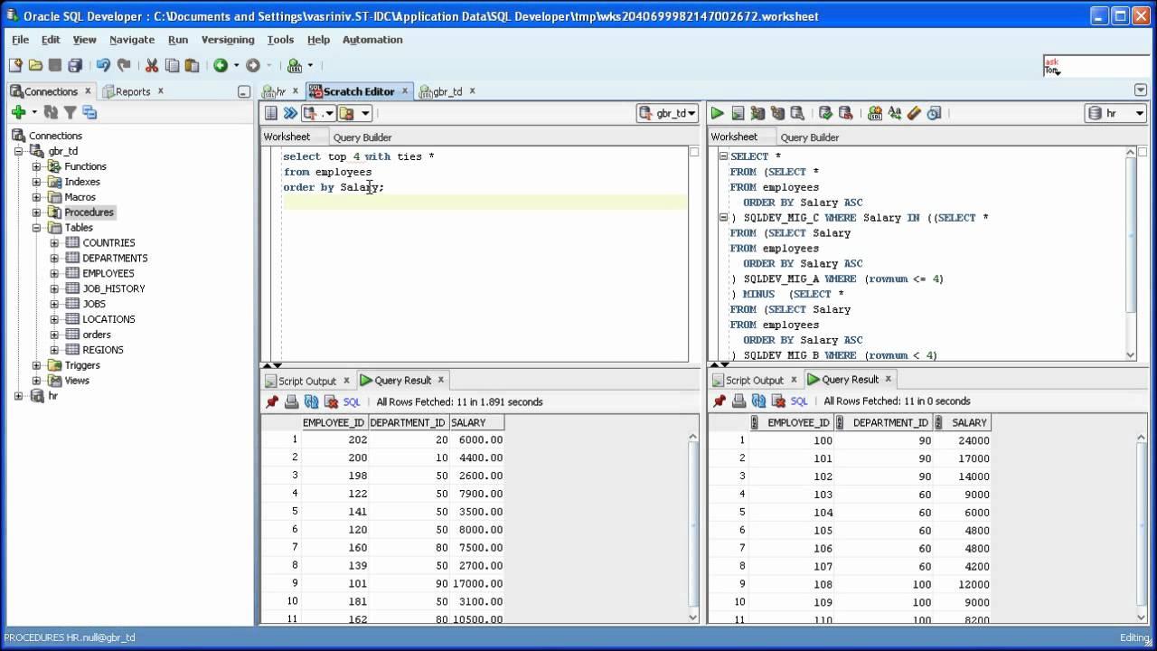 oracle data modeler tutorial