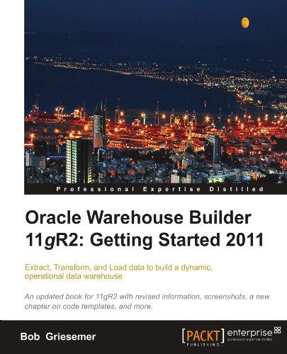 oracle warehouse builder tutorial pdf