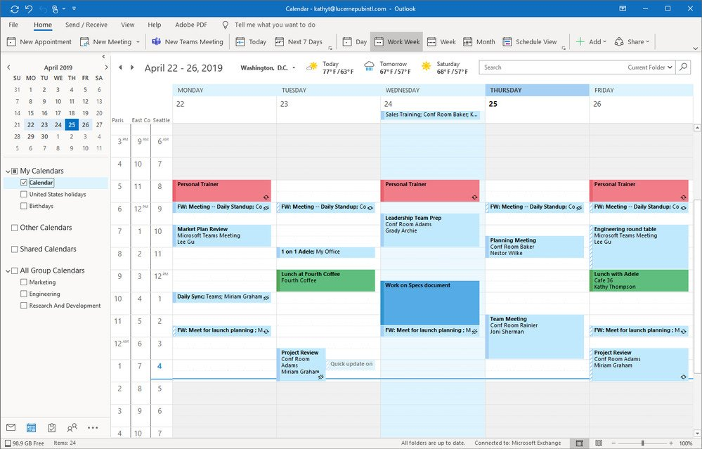outlook diary management tutorial
