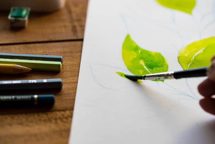 palette knife oil painting tutorial
