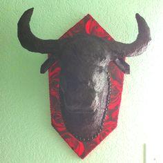 paper mache animal head tutorial