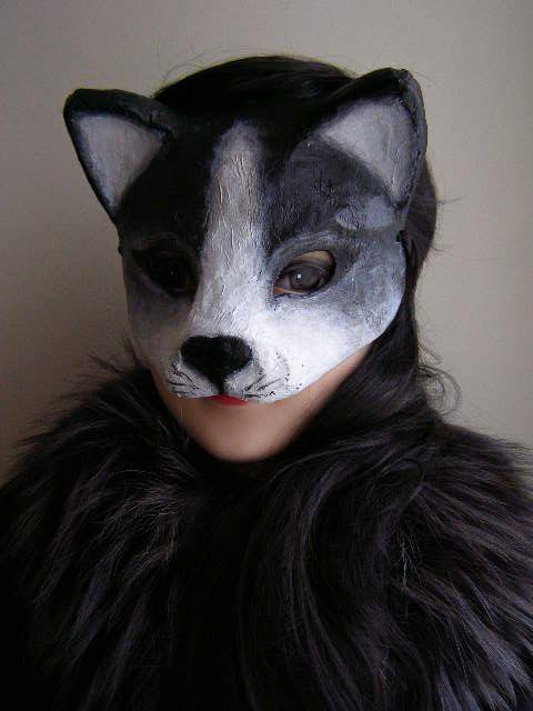 paper mache face mask tutorial