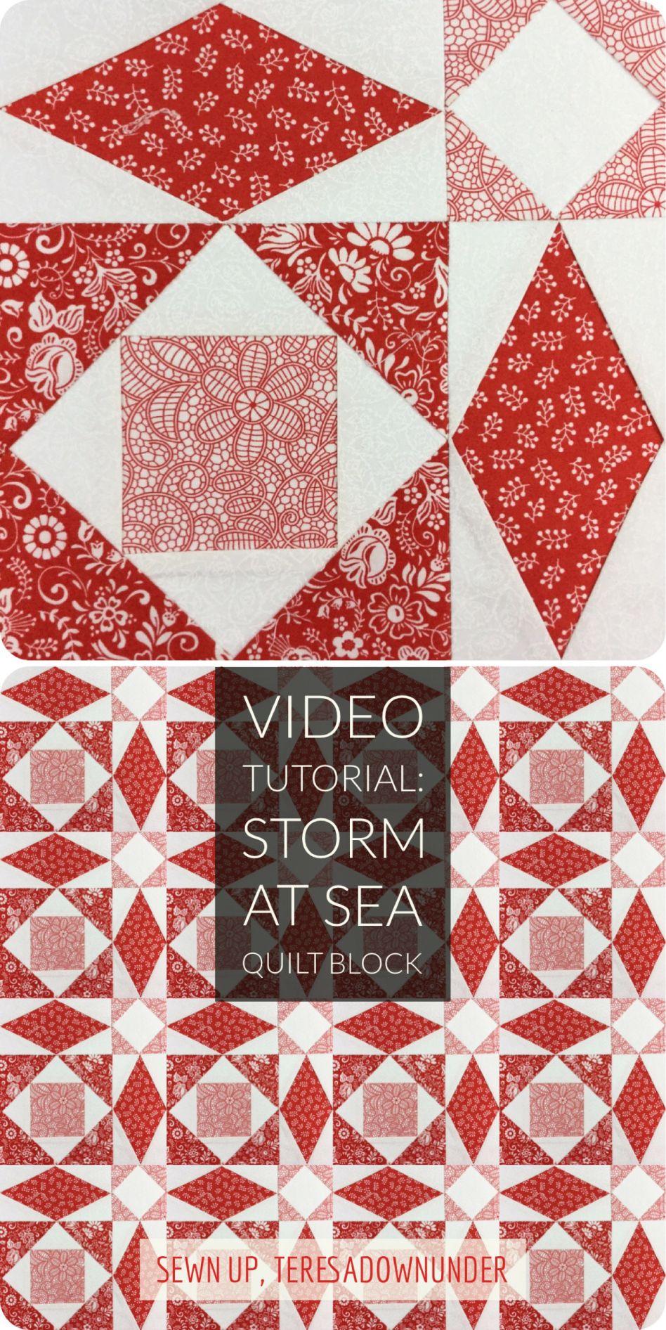 paper piecing video tutorial