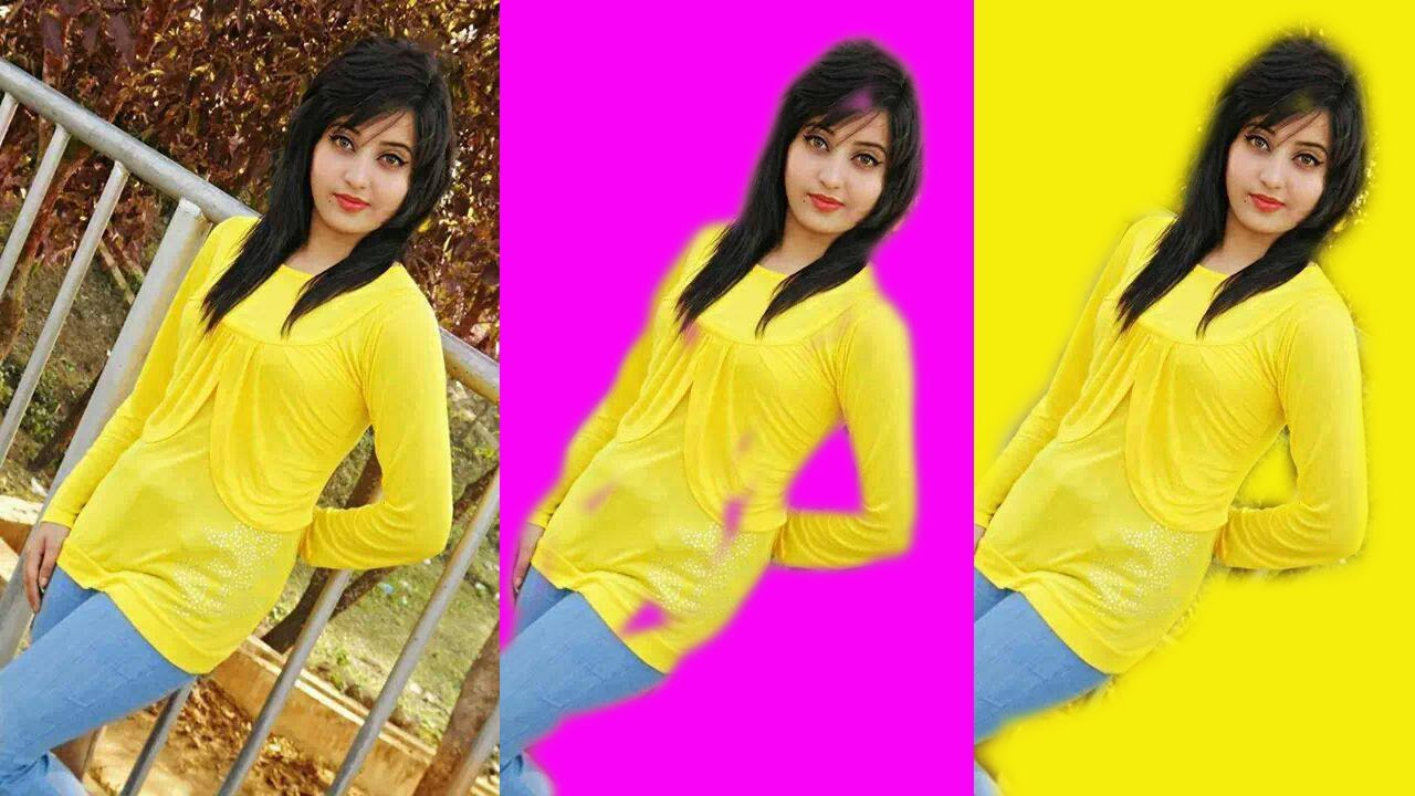 photoshop tutorial change background color