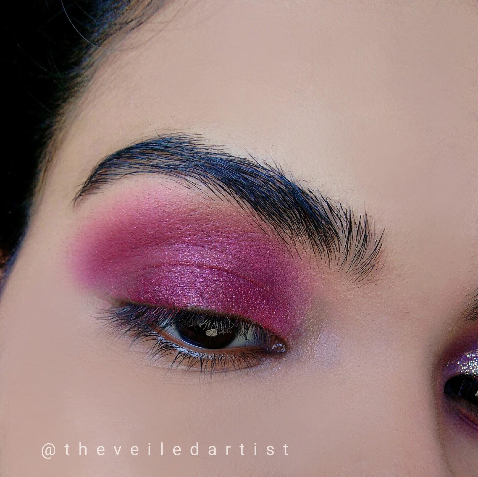 pink gold eyeshadow tutorial