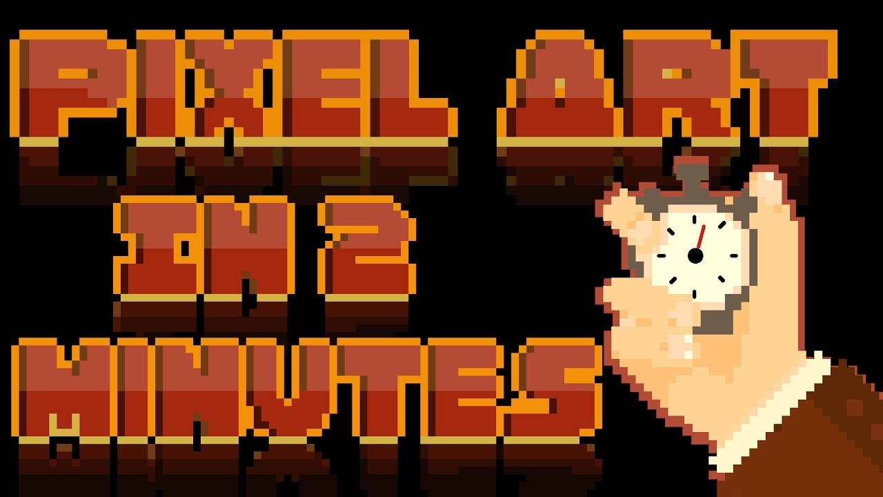 pixel art tutorial photoshop