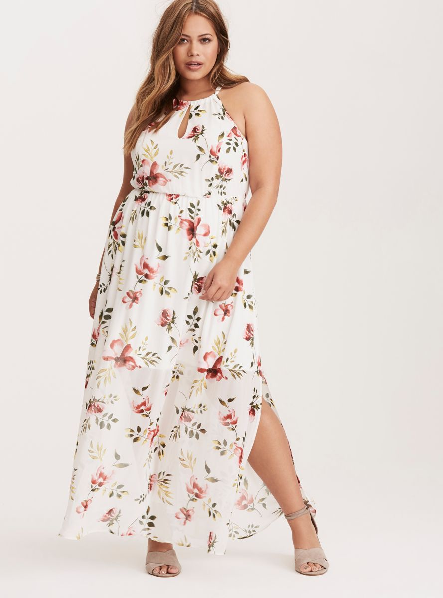 plus size maxi dress tutorial