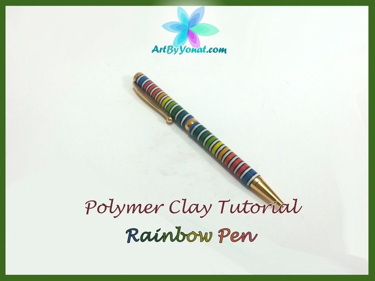 polymer clay crochet hooks tutorial