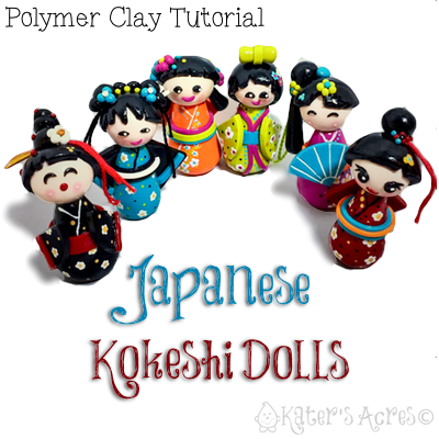 polymer clay doll tutorial