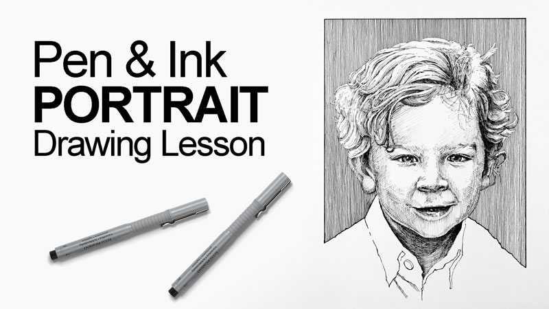 portrait drawing video tutorial