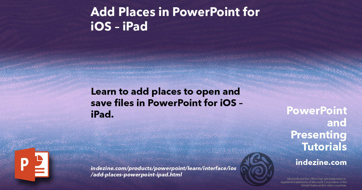 powerpoint for ipad tutorial