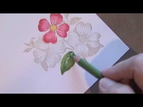 prismacolor blender pencil tutorial