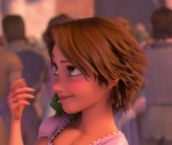 rapunzel short hair tutorial