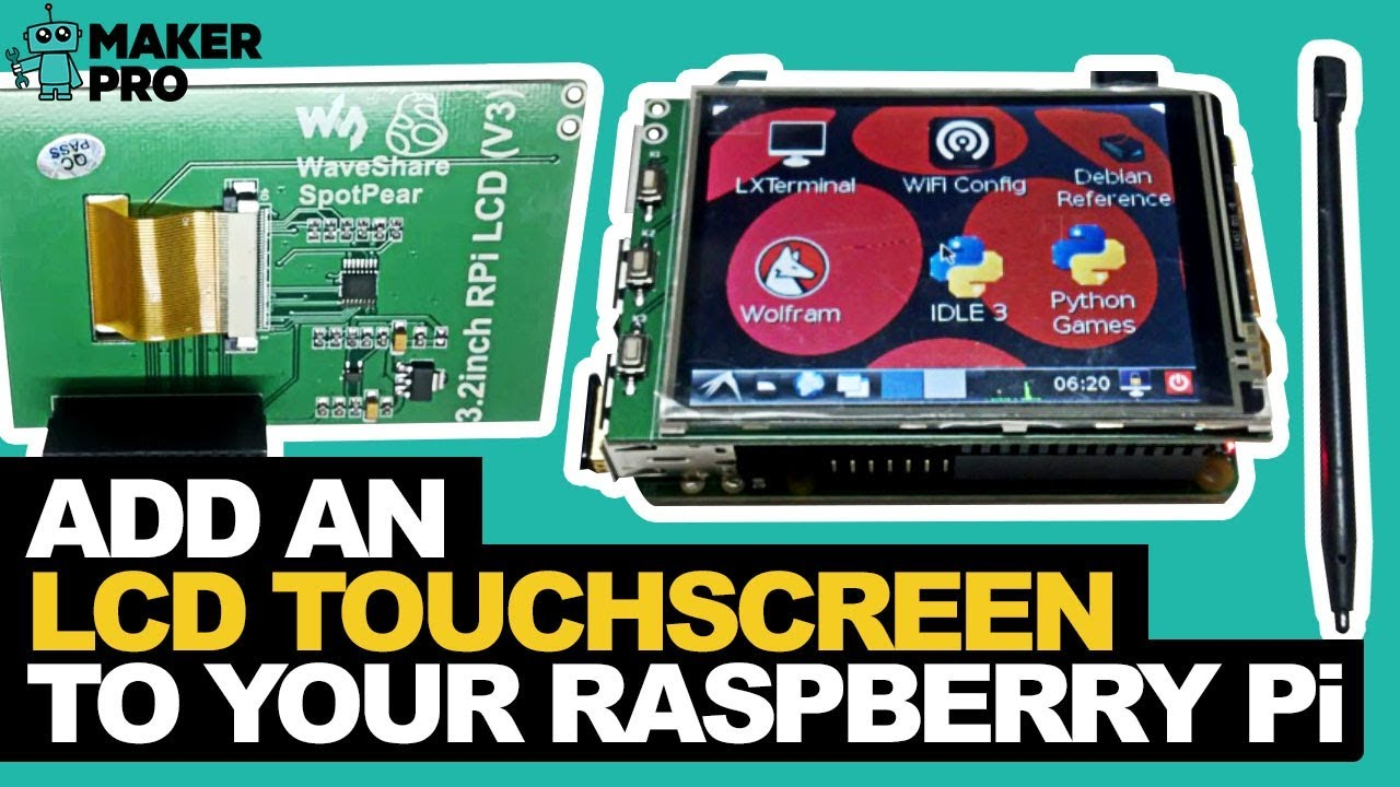 raspberry pi lcd display tutorial