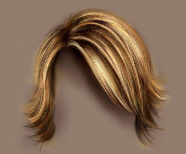 realistic hair drawing tutorial
