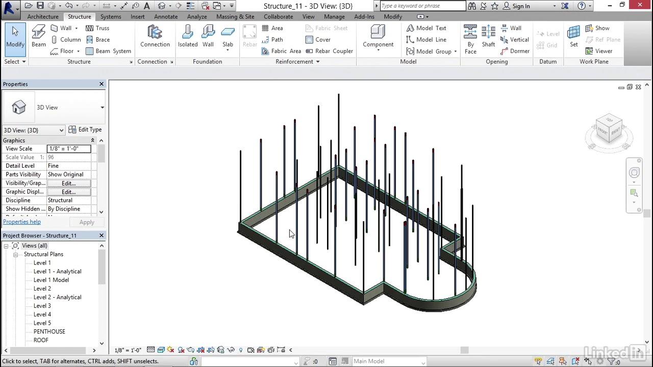 revit structure 2018 tutorial pdf