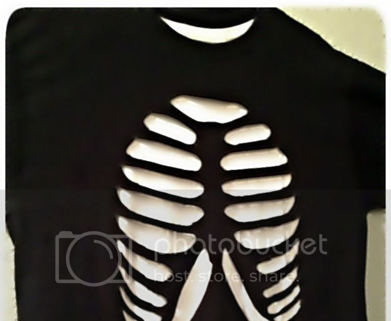 rib cage spine t shirt reconstruction tutorial