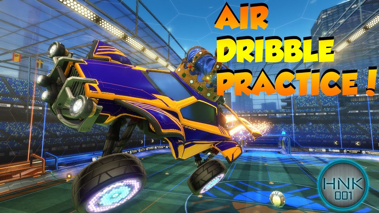 rocket league air dribble tutorial