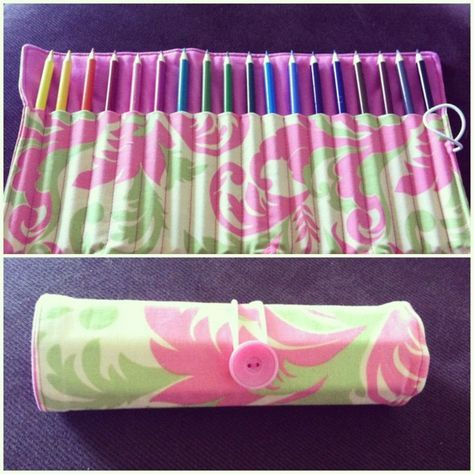roll up pencil case tutorial