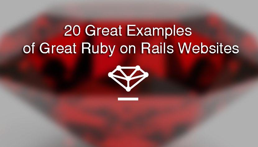 ruby on rails website tutorial