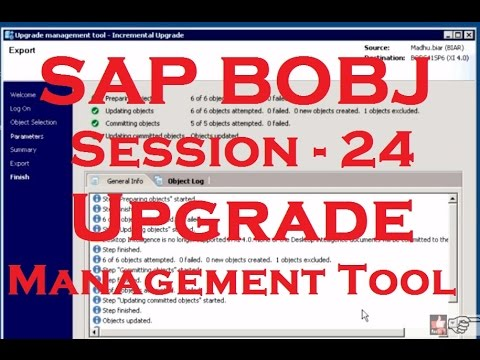 sap business objects tutorial