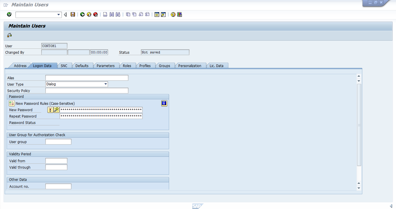 sap logon 720 tutorial