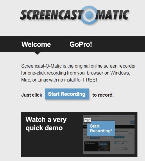 screen o matic tutorial