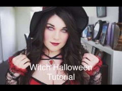 sexy witch makeup tutorial