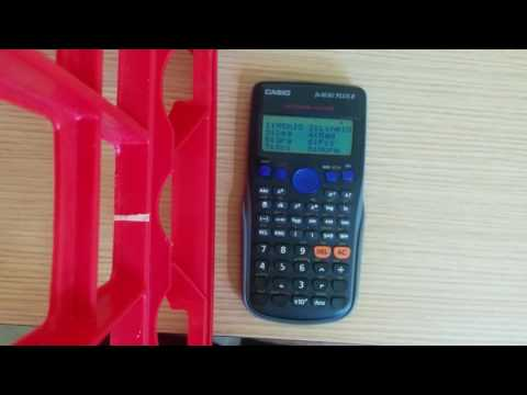 sharp el 738 tutorial