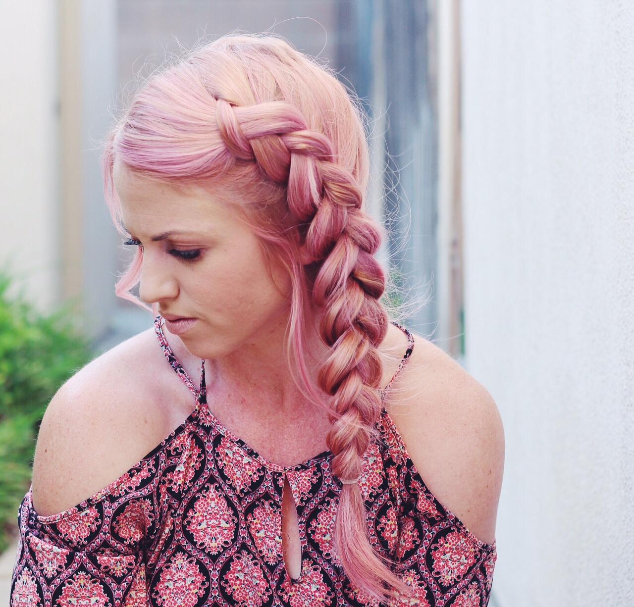 side dutch braid tutorial