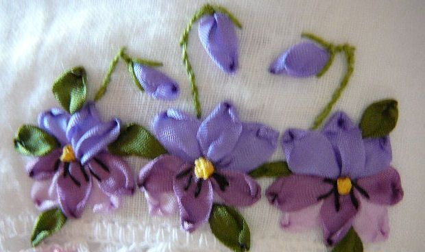 silk ribbon embroidery tutorial