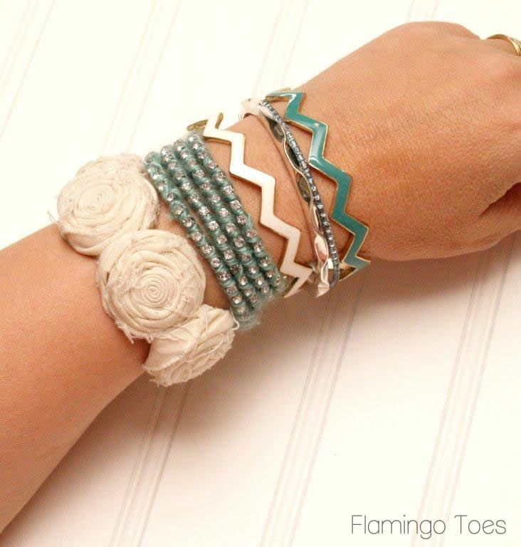 silk wrap bracelet tutorial