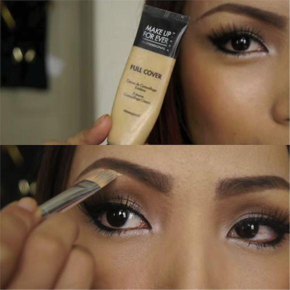 simple eyebrow tutorial for beginners