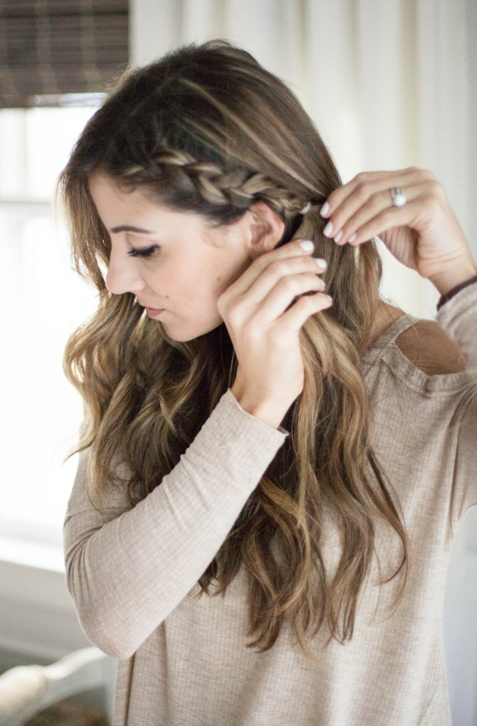 simple hair braid tutorial
