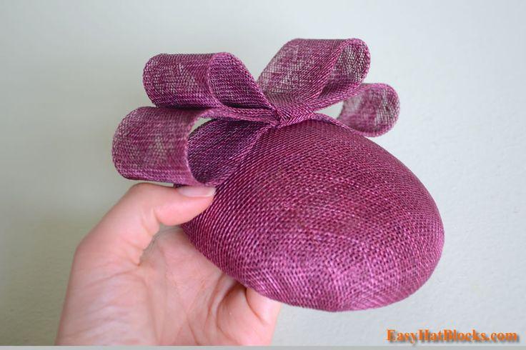 sinamay hat making tutorial