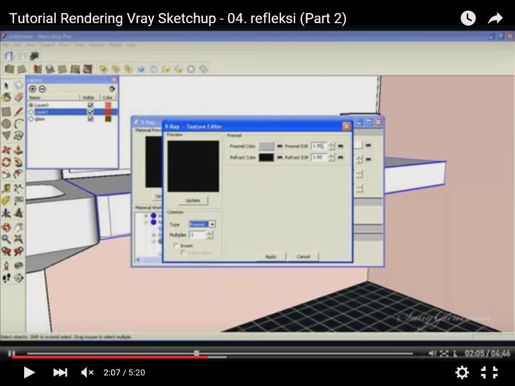 sketchup vray rendering tutorial