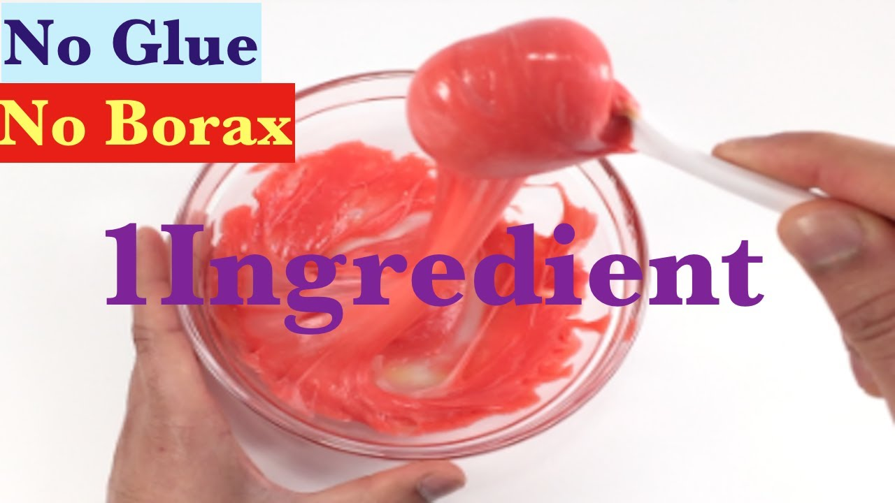 slime tutorial with borax