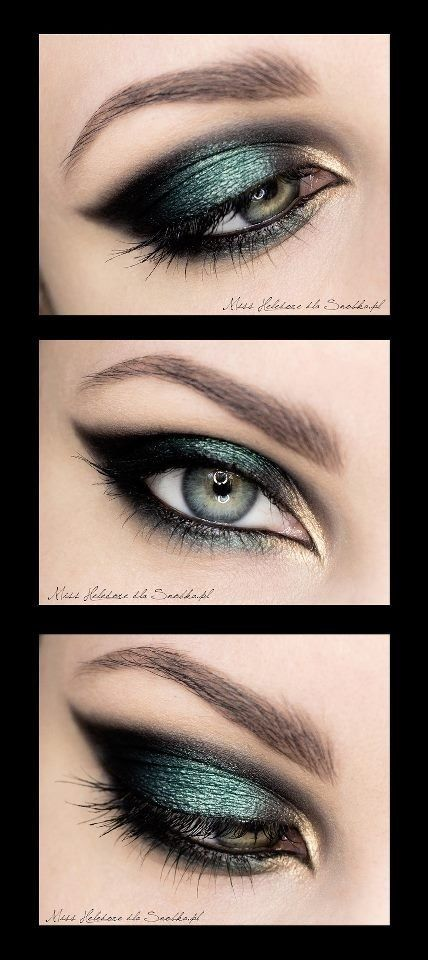smokey black eyeshadow tutorial