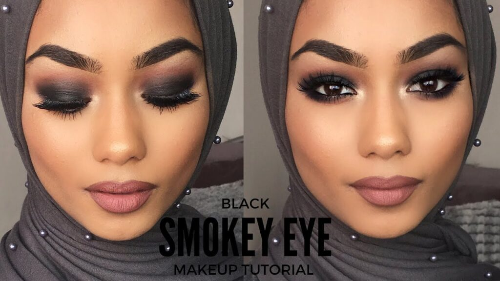 smokey eye tutorial for black skin