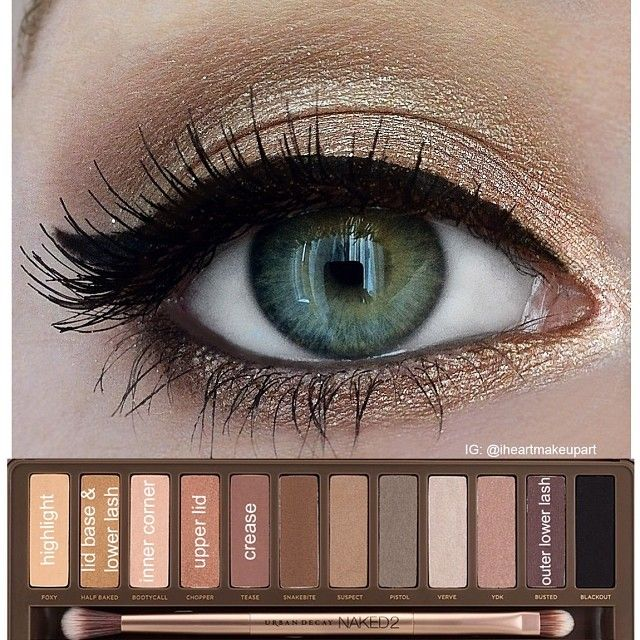 smokey eye tutorial naked 2