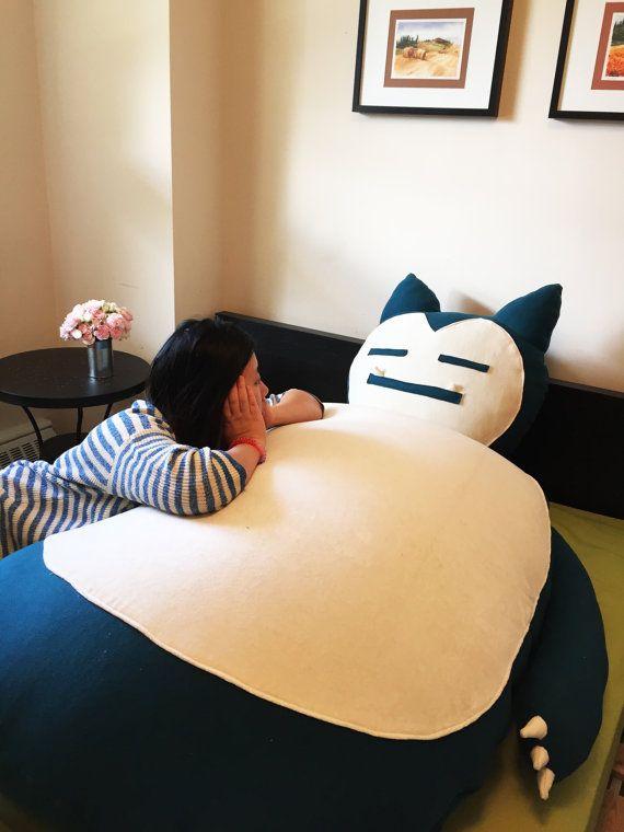 snorlax bean bag chair tutorial