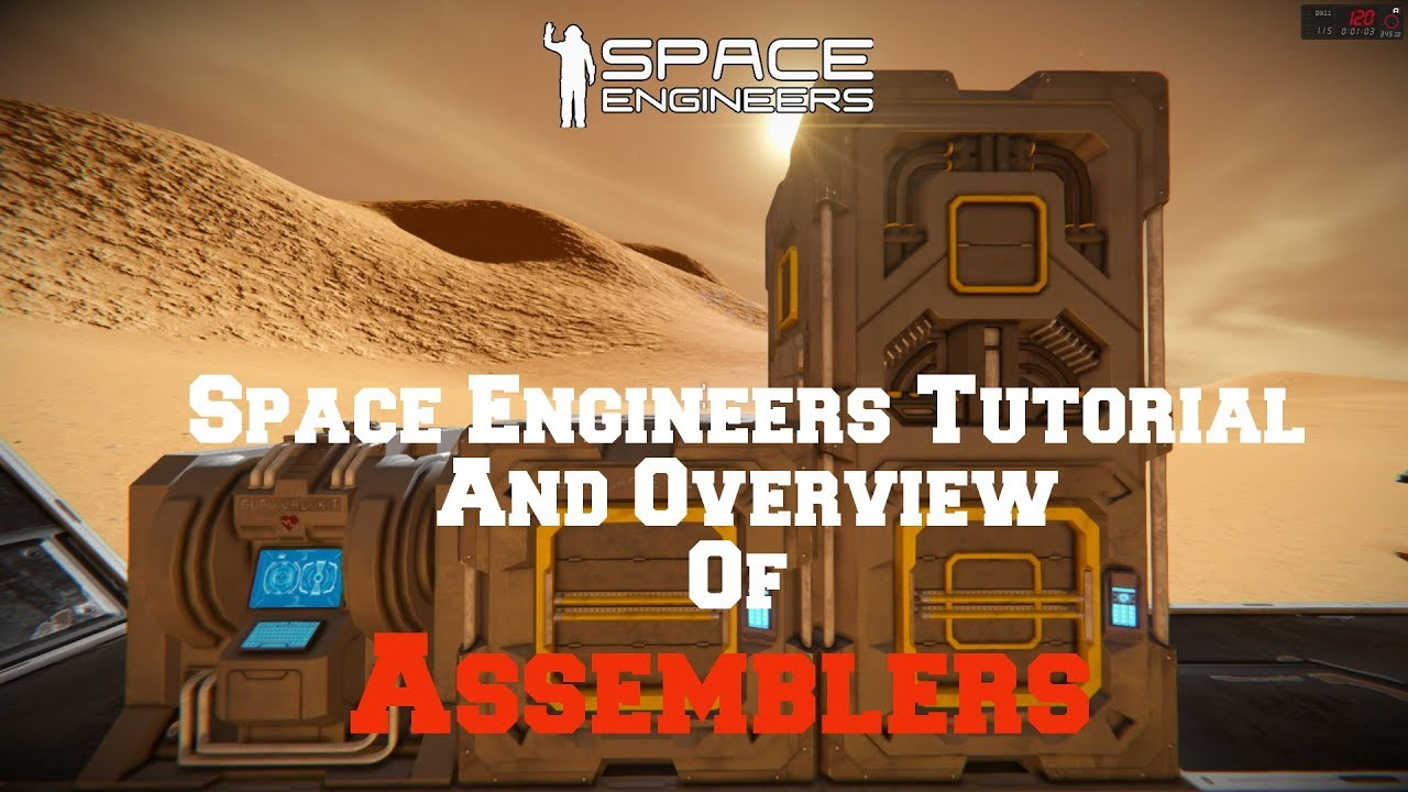 space engineers survival tutorial