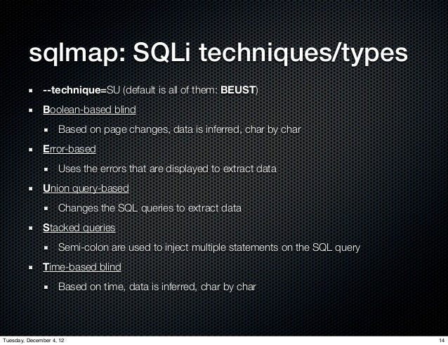 sqlmap blind sql injection tutorial