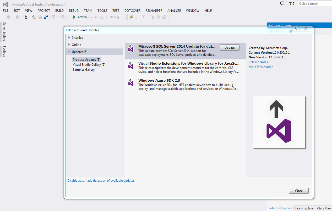 ssdt for visual studio 2015 tutorial